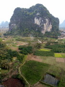 Rock Climbing Photo: you can see the road coming in from the right, the...