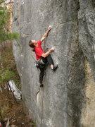 Rock Climbing Photo: A. Stetzer using weird beta
