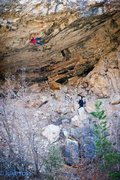 Rock Climbing Photo: Close to the first set of anchors