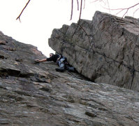 Rock Climbing Photo: Carey Corner Upper