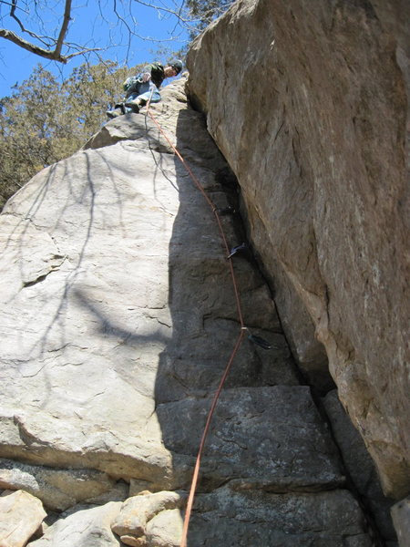 Rock Climbing Photo: Remo, pink point.