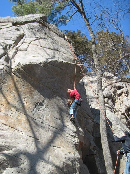 Rock Climbing Photo: Mr. Mix mikesmixture.com GRRRRRRR!!!