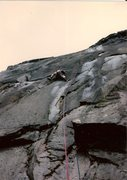 Rock Climbing Photo: Second ascent.  Jim and I took turns leading this ...