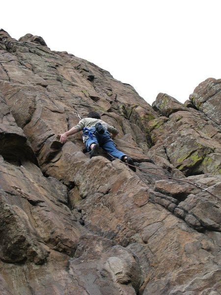 Rock Climbing Photo: Johnson (NTM)