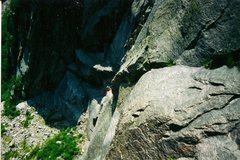 Rock Climbing Photo: Scanned photo of Craig Young.