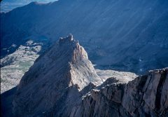 Rock Climbing Photo: Looking to the north from above the NW face.  You ...