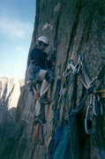 Rock Climbing Photo: Hooking on the Hallucinogen Wall... Fall of 2000