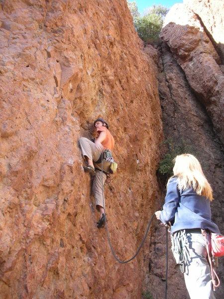 Rock Climbing Photo: Matt Fertig in deep focus on the second ascent of ...