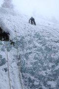 Rock Climbing Photo: 20Feb10 Ice Climbing @ Helen Hunt Falls, Colorado....