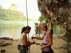 2009 Trip to Thailand, Ko Phi Phi & Railay Belay Relay