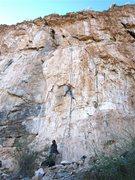 Rock Climbing Photo: Eric Ruljancich on this nice line.