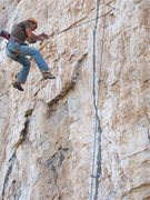 Rock Climbing Photo: Eric Rulyancich blowing his first chance at catchi...