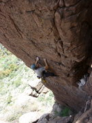 Rock Climbing Photo: Starting the steep section on Batteries Not Includ...