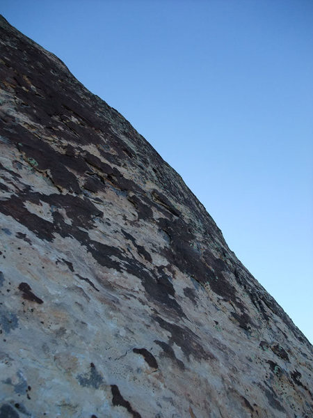 Rock Climbing Photo: the start of P6