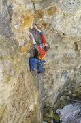 Rock Climbing Photo: Brage Haaheim leading Perfect Crimb. 04/02/11.