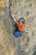 Rock Climbing Photo: Brage showing the correct way of protecting bolted...