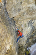 Rock Climbing Photo: Perfect Crimb. Brage Haaheim. 04/02/11.