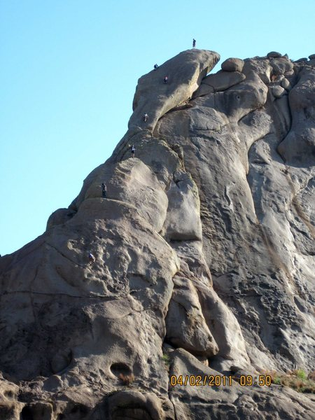 Seven soloists on Snake's Head (5.5X).