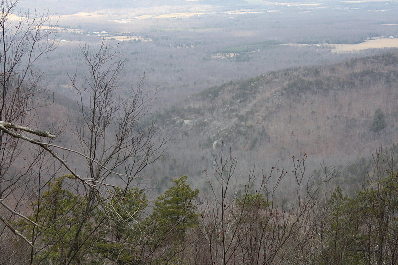 view from Chimney Rock...looking down into Paine Run watershed