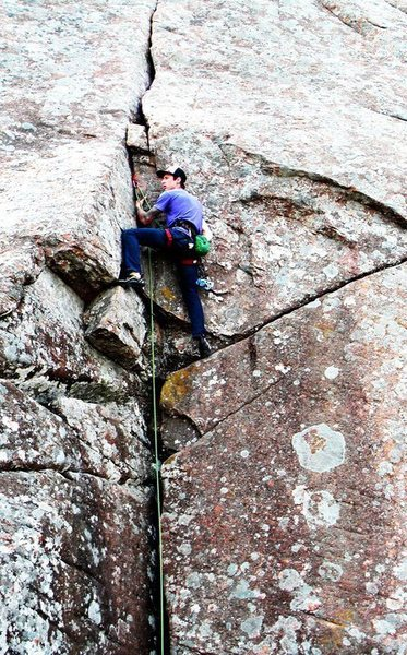 First trad lead.