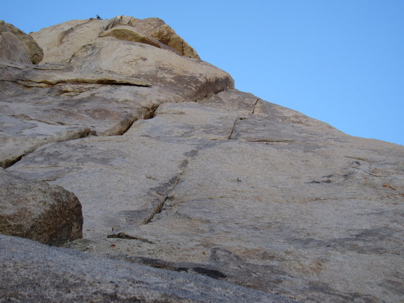 Rock Climbing Photo: Bolted seam to the right of Through the Looking Gl...