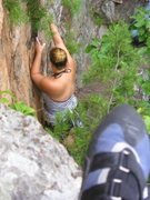 Rock Climbing Photo: Crowders Mountain, Summer 2010