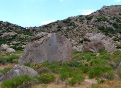 Rock Climbing Photo: Friction Test from near Wolf Area parking with Tur...