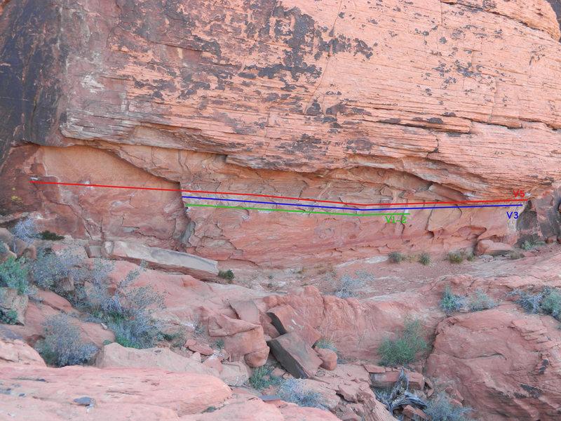 Alternative Crag traverse