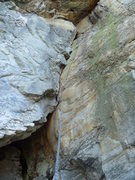Rock Climbing Photo: Opening corner