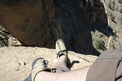 Rock Climbing Photo: monkey face mouth