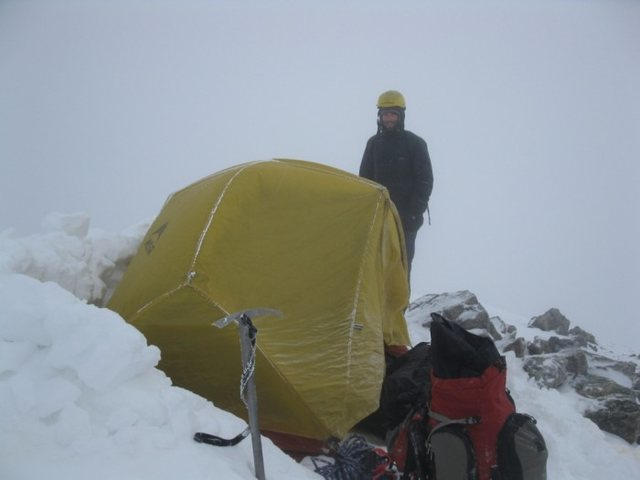 summit Camp Torreys Peak January '10