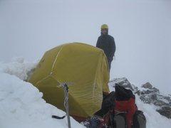 Rock Climbing Photo: summit Camp Torreys Peak January '10