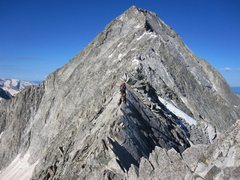 Rock Climbing Photo: Catwalk Capitol Peak
