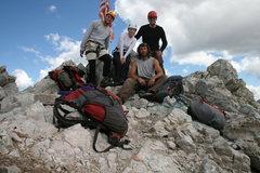 Rock Climbing Photo: Summit Capitol Peak 14,130 ft