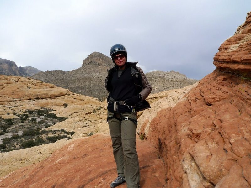 Rock Climbing Photo: Ready for Red Rock action!