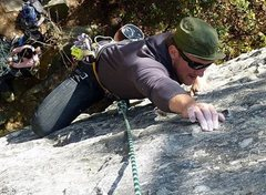 Rock Climbing Photo: Pilot Mountain NC