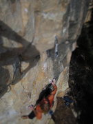 Rock Climbing Photo: Jamie on hopeful monsters or sumpin? Yaaaa NEW spe...