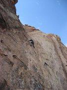 Rock Climbing Photo: DBC crux pitch