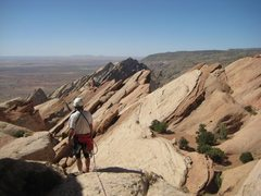 Rock Climbing Photo: Great views from the summit