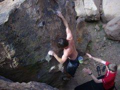 Rock Climbing Photo: Happy Boulders, Bishop