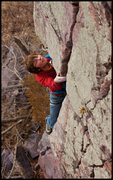 Rock Climbing Photo: Tony Brengosz spies the next move out of the dihed...