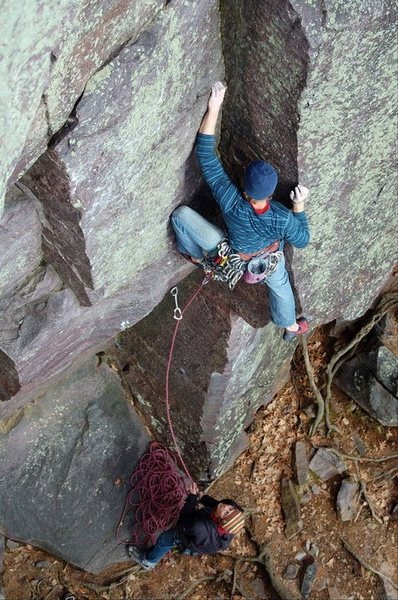 Great stemming and gear through the lower section. Photo: Sarah Brengosz