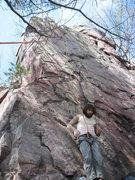 Rock Climbing Photo: The Sasquatch ready to climb.