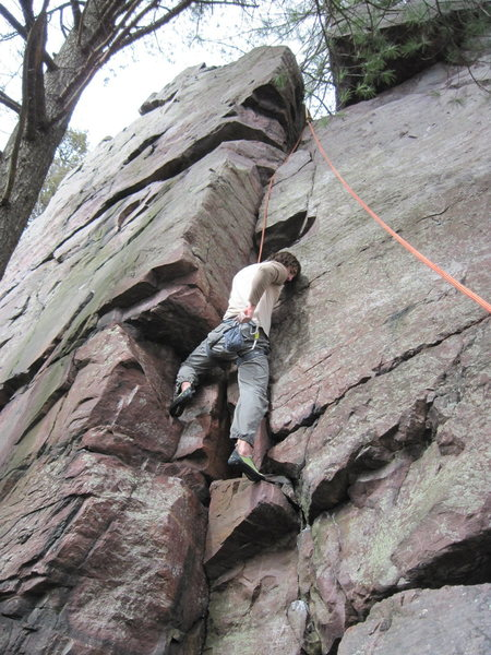 Rock Climbing Photo: The Sasquatch climbs!