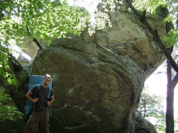 fellow climbing partner & hetero-lifemate Aaron Parlier