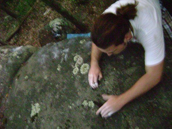 Rock Climbing Photo: matching