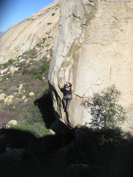 Eric (Jedi) Odenthal leading Helios  5.11c R