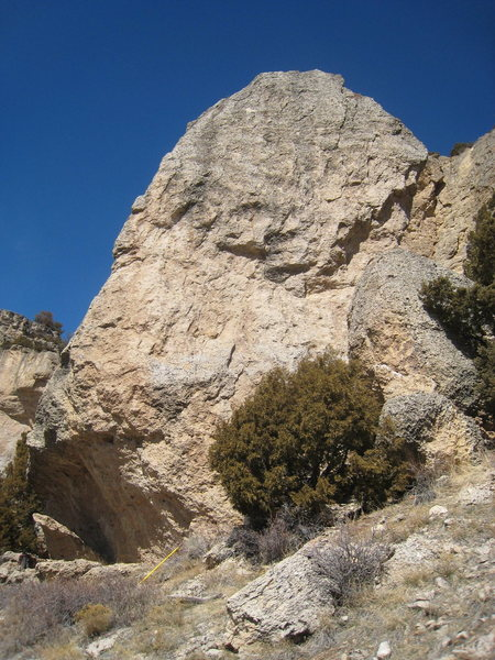 The south face of the Scud Pinnacle.