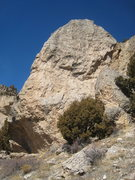 Rock Climbing Photo: The south face of the Scud Pinnacle.