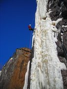 "Rock Climbing Photo: Rapp'n off ""Icebreakers"".  Is that sky d..."